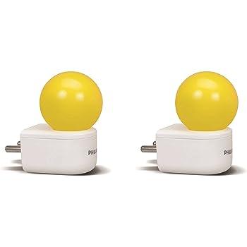 Philips Joy Vision Coral Rush 0.5-Watt LED Bulb (Yellow and Pack of 2)