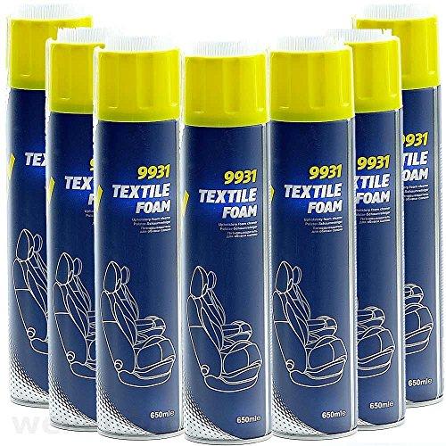 7 x Polsterschaum-Reiniger Teppich-Spray Aktivschaum 650ml (Teppich-schaum-spray Für Auto)
