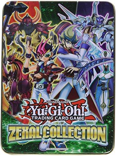 Yu-Gi-Oh 2013Zexal Jeu de cartes à collectionner avec boîte en métal (français non garanti)