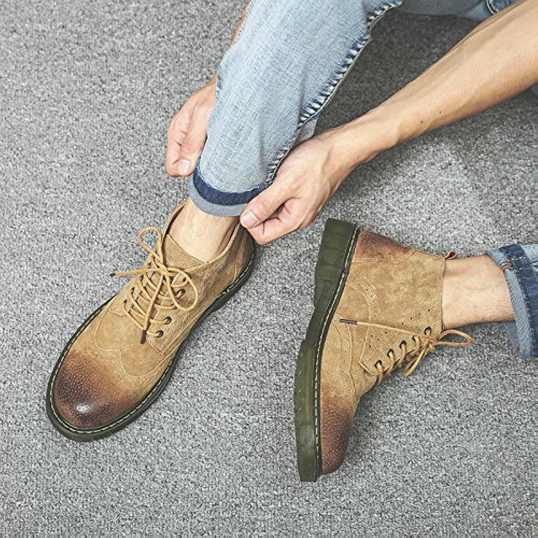 HL-PYL-Gire Maomading zapatos botas botas Retro.,41,color arena