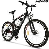 """ANCHEER Elektrofahrrad Ebike Mountainbike, 26""""/27.5"""" Elektrisches Fahrrad mit 36V 8Ah/10Ah/12.5Ah Lithium-Batterie und…"""