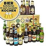 Bier kalt stellen ist auch kochen | Adventskalender Biere Welt & Deutschland