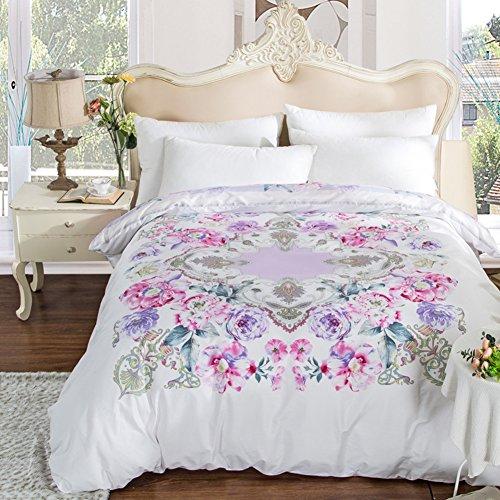 Baumwolle Decke ein Stück Baumwoll Cap Denim quilts Twin-Bettbezug-P 220*240cm(87x94inch) (Twin-denim-bettwäsche)