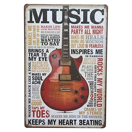 UNIQUEBELLA METAL Plaque, Vintage Retro Wall Advertising Poster Logo Tin sign 20x30cm(8