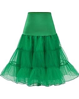 Womens 50s Vintage Petticoat for 50s Dresses Net Underskirt Size M YF8922-9