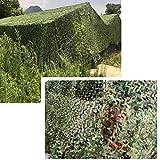 Wilxaw Filet de Camouflage, 3M X 6M Filet d'ombrage pour la Chasse au Camping,...
