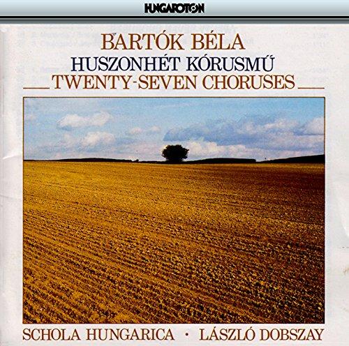 27 2- and 3- Part Choruses, BB 111, Vol. 4: No. 2. Resteknek notaja (Loafer) (2-loafer)