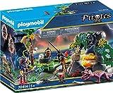 Playmobil- Pirates Nascondiglio del Tesoro dei Pirati, dai 5 Anni, Multicolore, 70414