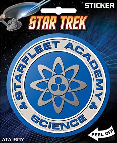 Star Trek - Starfleet Science Logo Die Cut Vinyl Sticker Decal by Ata-Boy (Cut Die Decal Logo)