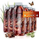 TRINKKOST ACTIVE - Der Eiweiß Protein Shake zum Abnehmen und Muskeln aufbauen - 6 Flaschen - kalorienarm Bio gesund mit 13 Vitaminen, 13 Mineralien und über 20 natürlichen Zutaten und Superfoods