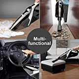Cordless Handheld Vacuums Cleaner Rechargeable - 13.5V 75W 6KPa Powerful and Strong Cyclonic Suction Wet and Dry Car Vacuum with Quick Charge Lithium lon Battery Portable Vacuum Cleaner Cordless for Pet Hair Home Office Car