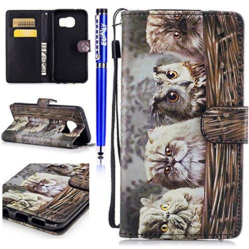 EUWLY Case Cover per Samsung Galaxy S7 Edge,Ultra...