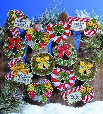 Design Works - Adornos de plástico para árbol de navidad, diseño de...