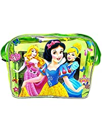 VIBGYOR Cartoon Printed Green Color Transparent Bag Cute School Sling Bag For Girls