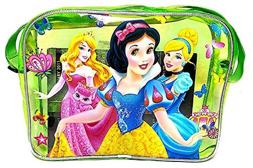 VIBGYOR Cartoon Printed Green Color Transparent Bag Cute School Sling Bag For Girls
