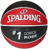 Spalding Ball NBA Player Derrick Rose 83-406Z, rot/schwarz, 5, 3001586011615