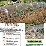 Verdemax 2635 - Serra Per Orto Con Tunnel A Soffietto