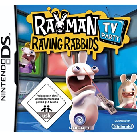 Rayman Raving Rabbids: TV Party [Importación alemana]