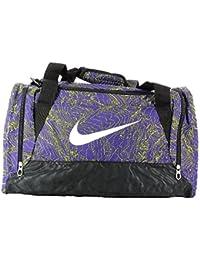 Nike Brasilia 6 Duffel Graphic Sm Bolsa de Deporte, Unisex Adulto, Morado (Court Purple / Black / White), Talla Única