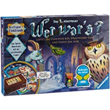 Ravensburger Wer War's Board Game 21854 Kids Game of the Year 2008/Electronic Board Game for the whole family [German Language Version]