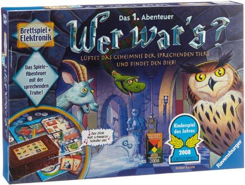 einkaufen spiel Ravensburger 21854 - Wer war's? - Kinderspiel des Jahres 2008