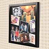 #10: AR Personalized Photo Frames Wall Collage(Black, 12 x 12) : A-104AP
