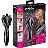 BaByliss Twist Secret - Trenzador con kit de accesorios, color rosa