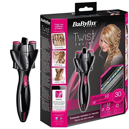 twist secret - 61adaxLv4UL - BaByliss TW 1100 E Twist Secret Hair Maker Curler Curl Braids