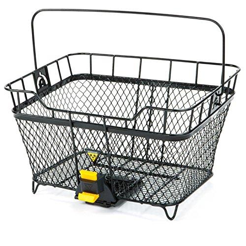 TOPEAK MTX Basket Rear Fahrrad Korb Hinten Metall Einkauf Gepäckträger MTX System 40,5x33,5x24,1 cm, 15002080