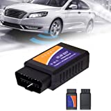 begorey OBD2 Diagnosegerät Kabellos Auto WiFi Diagnose Scanner OBDII Codeleser OBD2 Stecker Codeleser Prüfen Motor Fehlercodes Can Bus Interface Kompatibel mit iOS, Android, Windows Smartphone