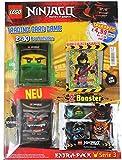 Blue Ocean Lego Ninjago Serie 3 Trading Card Game Extra Pack mit LE 23 Luke Cunningham + Plus Sonderkarte