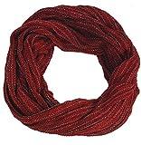 Guru-Shop Weicher Loop Schal/Stola, Magic Loop, Weste, Herren/Damen, Rot, Baumwolle, Size:One Size, Schals Alternative Bekleidung