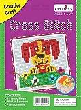 #8: Creative Educational AIDS P. Ltd. Cross Stitch Kit – Dog, Multi Color
