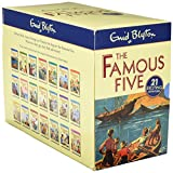 Famous Five 21 Book Complete Classic Edition Gift Set (Famous Five Gift Books and Collections)