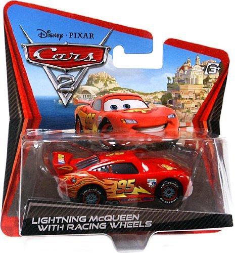 Disney.Pixar - Cars 2 - Voiture miniature Flash McQueen - V8870