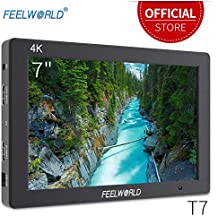 """Feelworld T7 On Camera Field Monitor 7"""" 4K Ultra HD 1920x1200 LCD IPS Screen 16:10 With HDMI for DSLR Rig Sony Canon Nikon Olympus Pentax Panasonic"""