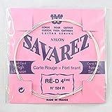 Savarez - Cuerda para guitarra clásica Traditional Concert 524R, solo cuerda D4w estándar, se adapta al juego de cuerdas 520F