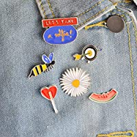 JTXZD brooch 6pcs/set LET
