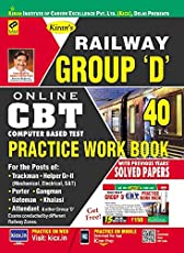 Railway Group 'D' CBT Online Exam Practice Work Book - 2182