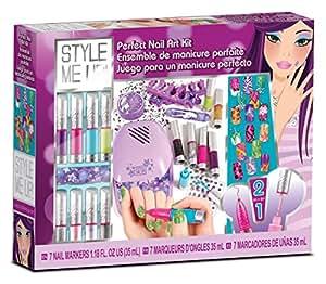 Style Me Up! - 1762 - Kit de Loisirs Créatifs - Salon de Manicure Stylos