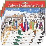 Alison Gardiner Pack de 4 Calendarios tradicionales de Adviento - Jesús nace