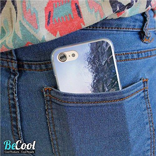 BeCool®- Coque Etui Housse en GEL Flex Silicone TPU Iphone 8, Carcasse TPU fabriquée avec la meilleure Silicone, protège et s'adapte a la perfection a ton Smartphone et avec notre design exclusif. Fro L1241