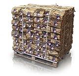 Anfeuerholz 5,0 dm³ 96 Netze á 3 kg volle Palette 290 kg - sofort Ofenfertig - geeignet für Kamine und Öfen