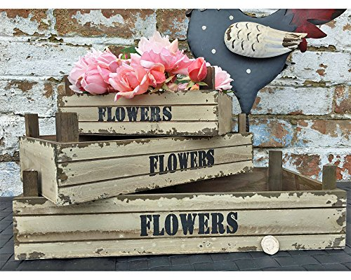set-of-3-small-wooden-rustic-crate-planters-plant-pots-containers-home-garden-paint-chip-look