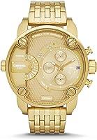 Diesel Little Daddy Men's GOLD Stainless Steel Band Watch - DZ7287