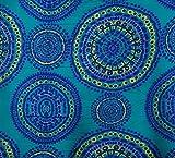Mandala-Druck Crafting Rayon Stoff 42 Zoll breit Material