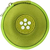 Mini-Etui - Blume, nur 7cm, z.B. Hülle für iPod Shuffle oder Case für Ohrhörer, bzw. Kopfhörer (iPhone, iPod, iPad, S3 etc.) oder für SD-Karte, USB-Stick