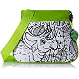 Wild Republic - Fashion Bag DIY Kit, diseño dino, color verde (10717)