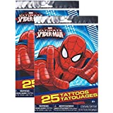 Marvel Ultimate Spider-Man Tattoos [2 Package of 25]