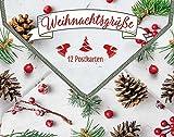 Weihnachtsgrüße: 12 Postkarten